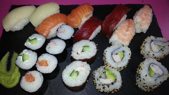 Sushimore: menú be more