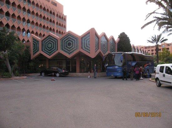 Das Hotel Atlas Asni.