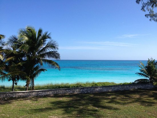 Exuma Palms Hotel: The view east toward the ocean from my room