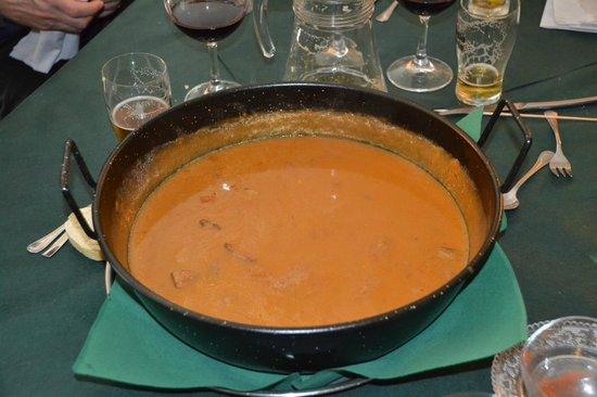 Restaurante La Granadella: Caldero meloso de pato, boletus y foie.