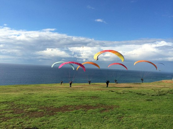 Torrey Pines Gliderport: Testing the wind