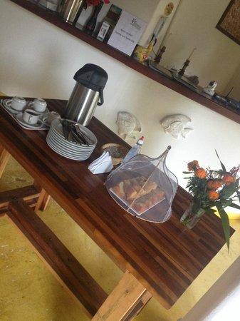 Pousada Jardim das Margaridas : Coffee Time