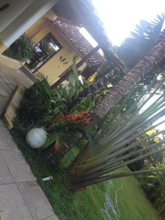 Pousada Jardim das Margaridas : Front of the apartment