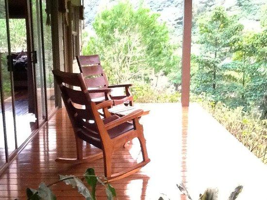 El Silencio Lodge & Spa : Our deck