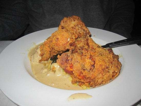 Dick and Jenny's: Fried chicken and gravy and other yummy stuff