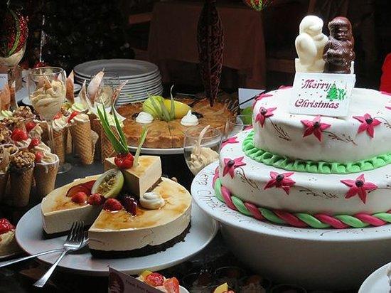 Paradise Sun: Buffet des desserts pour Noël