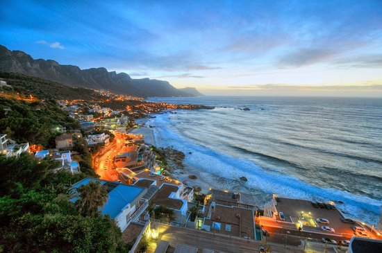 Cape View Clifton: Our view from App. 1A