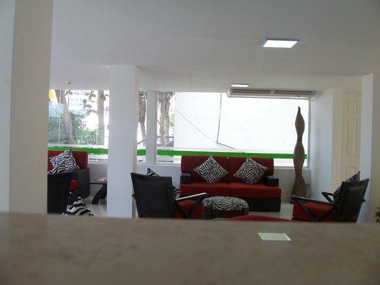 Yaque Beach Hotel: El Lobby del Hotel