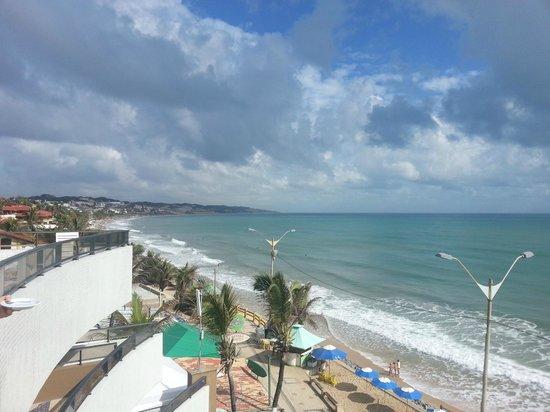 Mirador Praia Hotel: Vista al lado opuesto del Morro Careca