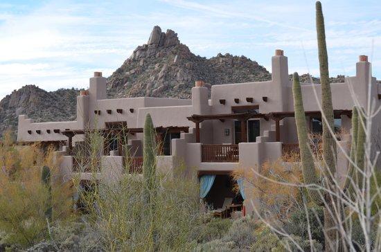 Four Seasons Resort Scottsdale at Troon North : View of Pinnacle Peak - Four Seasons Resort Scottsdale