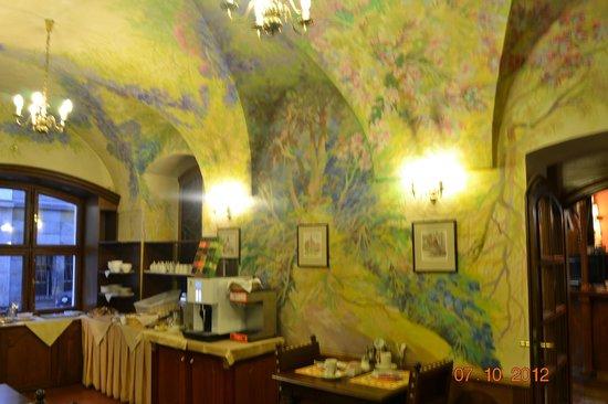 Hotel U Krale Karla (King Charles): sala
