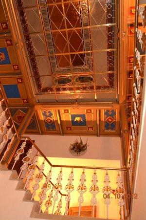 Hotel U Krale Karla (King Charles): soffitto
