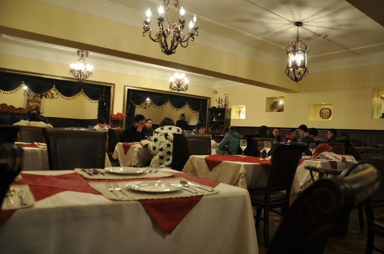 Tatoc: The old style dining room