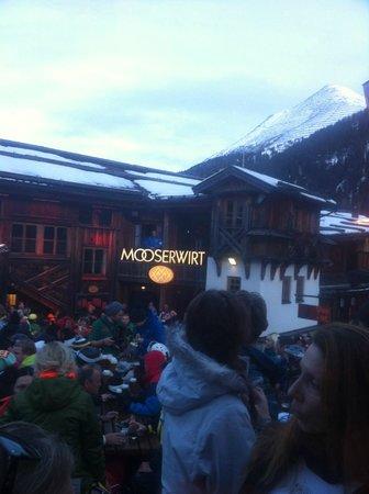 Mooserwirt - wahrscheinlich die schlechteste Skihutte am Arlberg: Outdoor
