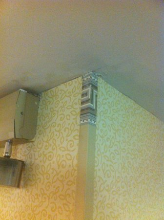 Ramada Fresno North : not the best wallpaper job.  Makes it looks cheap.