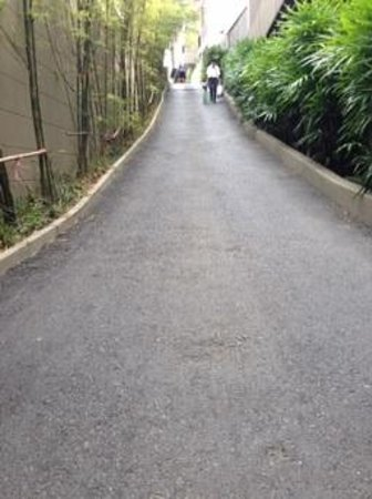 Avista Hideaway Phuket Patong, MGallery by Sofitel : Et voici la rampe que les employés eux-mêmes redoutent