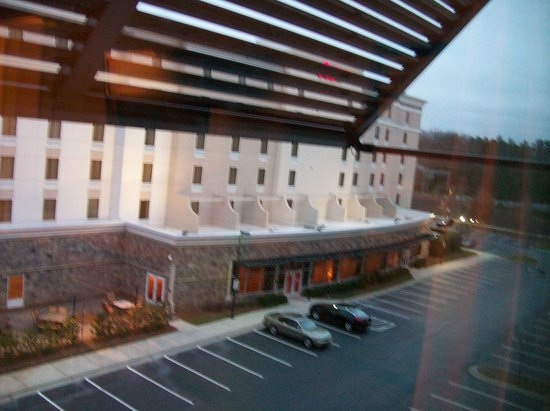 Embassy Suites by Hilton Raleigh - Durham Airport/Brier Creek: View from Room 306, looks at another hotel next door