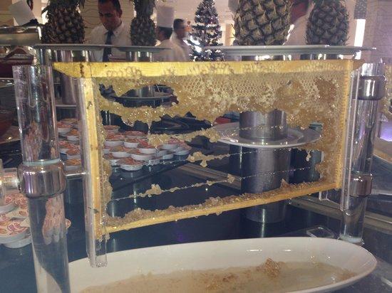 Rixos Sharm El Sheikh: Wonderful fresh honey