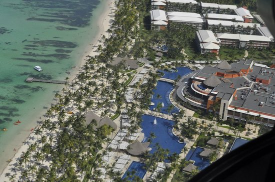 Barcelo Bavaro Palace: view from helicopter