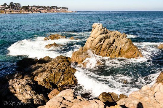 Lovers Point and Monterey Bay. Photo by XplorMor