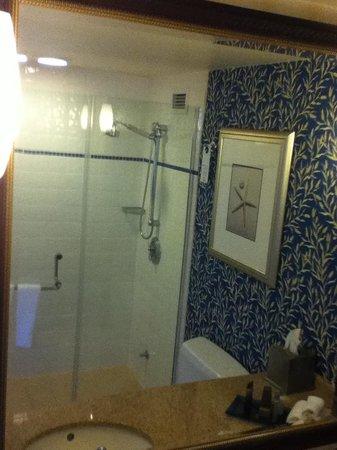 Newport Beach Marriott Hotel & Spa: Bath (shower only)