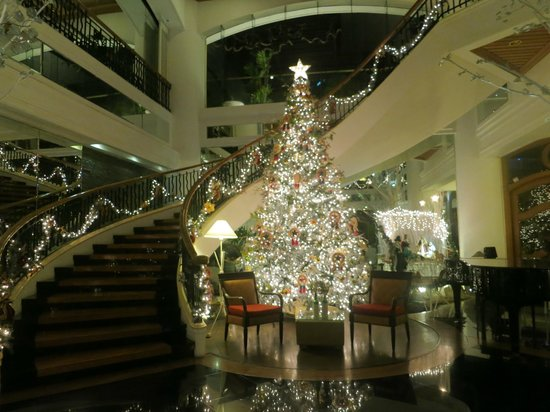 Vivere Hotel: Christmas theme at the lobby