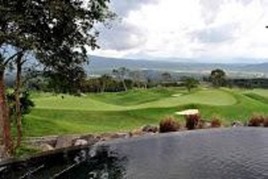 La Reunion Golf Resort & Residences: Una vista espectacular desde el Restaurante