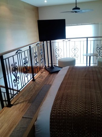 The One Boutique Hotel: Loft balcony