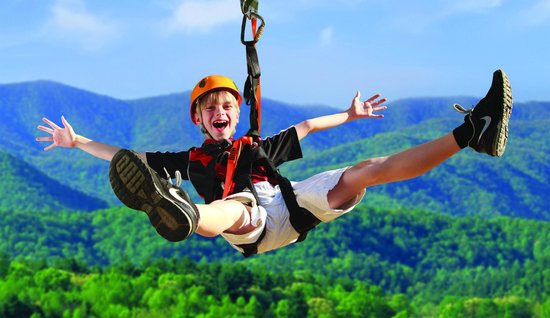 Foxfire Mountain Adventures: Zippin Kid