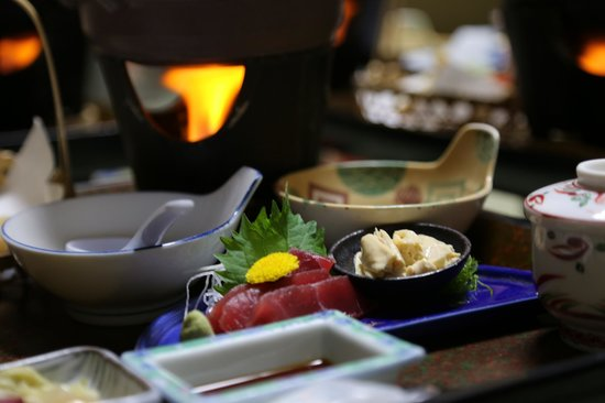 Hotel Harumoto : Dinner