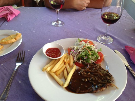 Strawberry Restaurant: Австралийская говядина в винном соусе