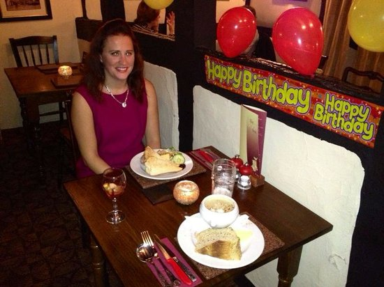 The Boot Inn: A wonderful Birthday treat