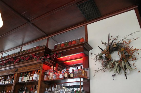 Besaw's: Above the bar