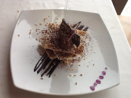 San Cipriano Picentino, Italy: scomposta alla nutella..nutelllaaaaa