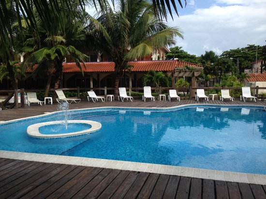 SunBreeze Hotel: Partial pool view