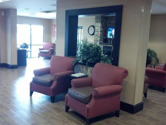 lobby picture of comfort inn biltmore west asheville. Black Bedroom Furniture Sets. Home Design Ideas