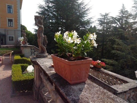 Villa Porro Pirelli : На завтраке на террассе