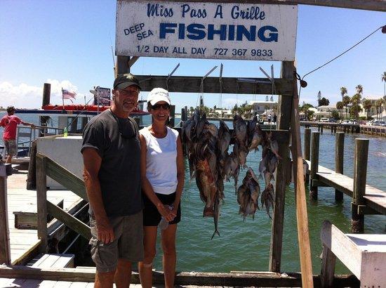 Merry Pier: A nice fishing trip!!