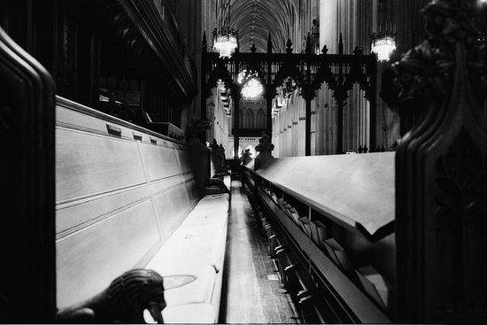 Washington National Cathedral , interior.