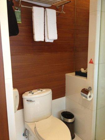 Ocean Hotel : Standard room toilet