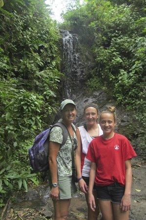 The Sleeping Indian Girl: Waterfall along the way