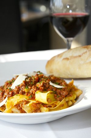 Nith River Chop House: Yummy pasta selections.