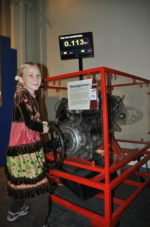Sci-Port Discovery Center: understanding how much work it takes to produce a watt of electricity
