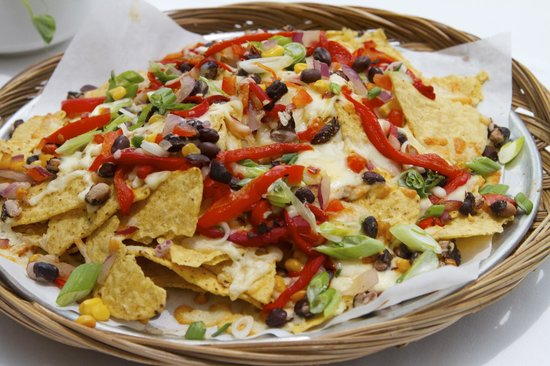 Nith River Chop House: Loaded nachoes, packaed with flavour.