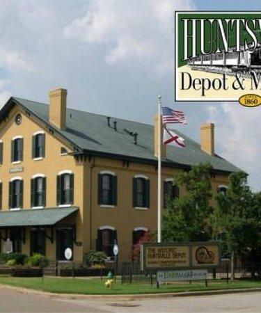 Huntsville Depot Museum: Historic Huntsville Depot