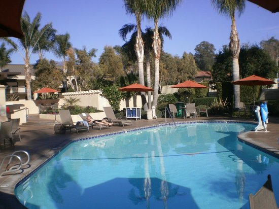 Best Western Plus South Coast Inn : Pool area
