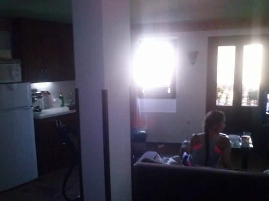 Apartamentos Muralla Ziri : piece de vie