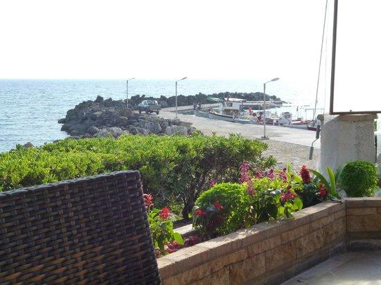 Dora Apartments Argirades: view from panorama restaurant