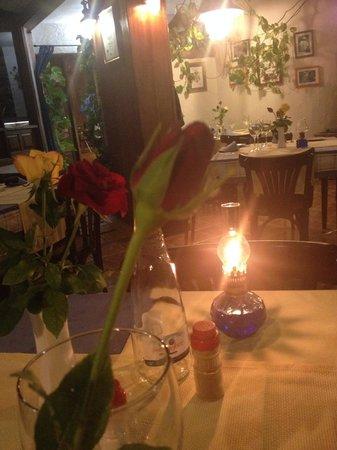 Astillero Avencio : Rose at the end of dinner!
