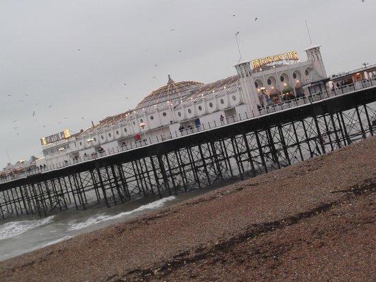 New Steine Hotel: Brighton pier